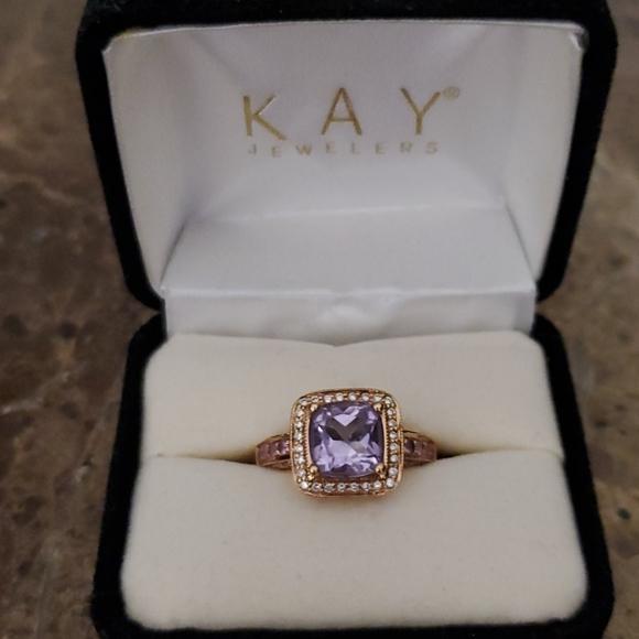 LeVian 14K Pink Sapphires, Diamond, Amethyst